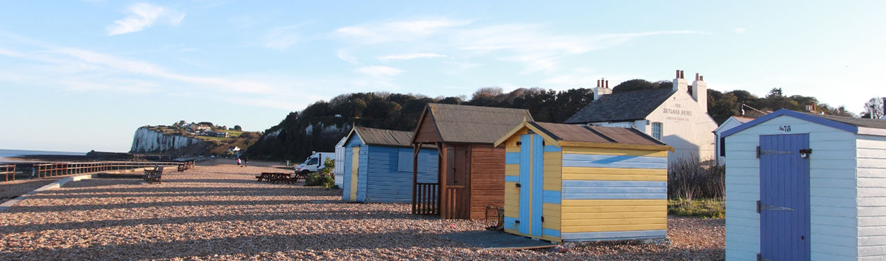 A Large Number Of Bespoke Chalets In The Fantastic 5 Star Kingsdown Holiday Park Deal On Beautiful Kent Coast England